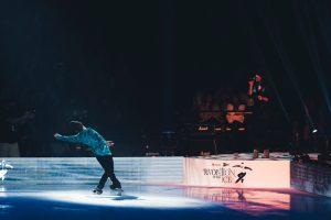 Javier Fernandez en el Revolution on Ice de Bilbao