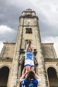 La jugadora de rugby Uri Barrutieta