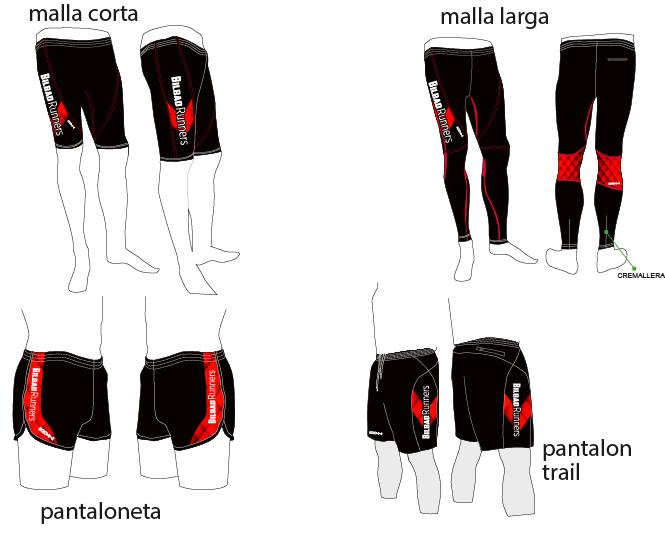 Pantalones Bilbao Runners